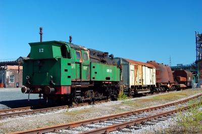 Industriedenkmal Henrichshütte zu Hattingen, Werksbahn