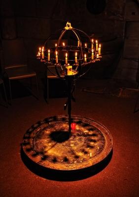 Eine Kerze anzünden....an einen anderen Menschen denken....