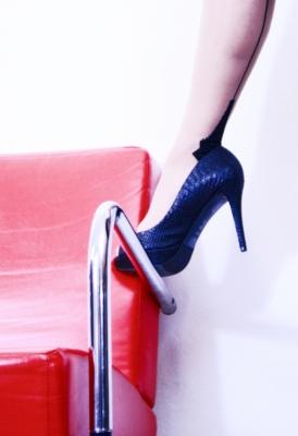 Heels on Chair