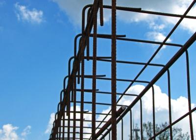 Baustelle Stahlarmierung