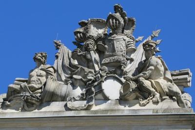 Berlin, Skulpturengruppe (ehem. Zeughaus)