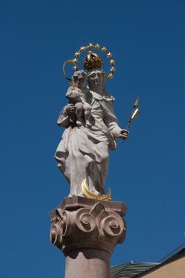 Die Mariensäule in Murnau