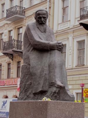 Dostojewskij-Denkmal (St.Petersburg)