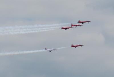 Flugstaffel Patrouille Suisse (ILA 2010)