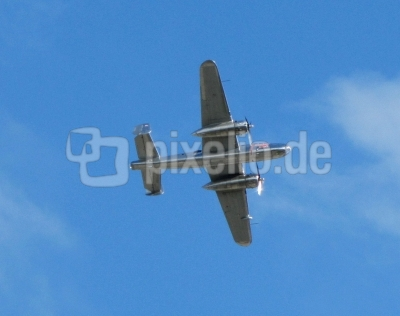 B25 Mitchell North American in der Luft (ILA 2010)