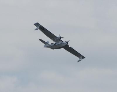 PBY-5A Catalina über Berlin-Schönefeld (ILA 2010)