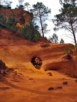 Ockerbrüche bei Roussillon - Südfrankreich