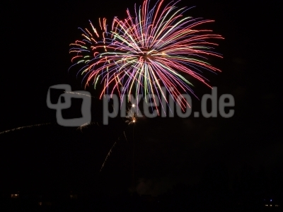 Biwak Feuerwerk