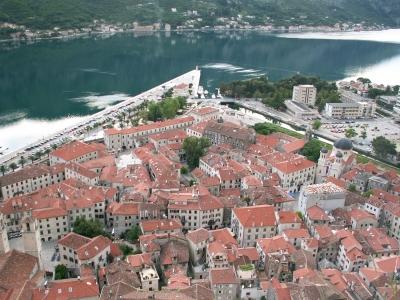 Blick auf die Altstadt von Kotor