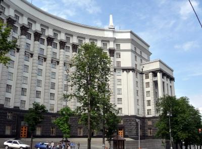 Gebäude des Minister-Kabinetts in Kiew