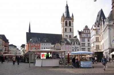 Stadt Trier - der Markt