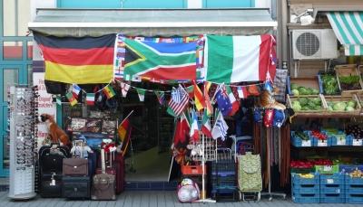 überall präsent, die Fußball WM