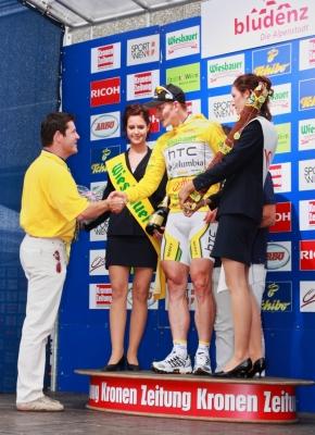Siegerehrung Radsport