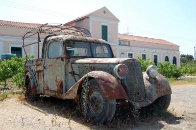 Mercedes Pick Up Oldtimer