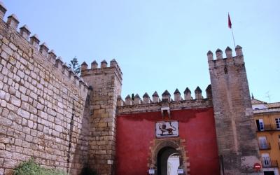 Der Alcázar von Sevilla