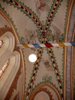 Rerik Kirche Deckengemälde