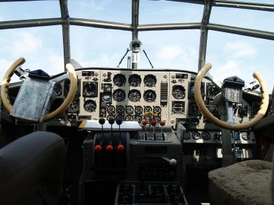 Kanzel der Ju 52