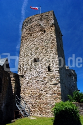 Burg Runkel an der Lahn, Ruine Oberburg