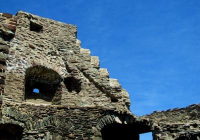 Burg Runkel an der Lahn, Ruine Oberburg #6