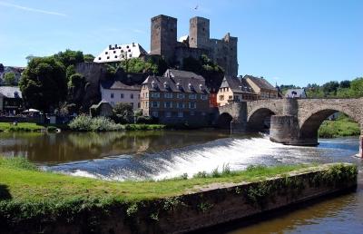 Burg Runkel, Ansicht von der Lahn #4