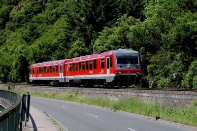 Schienenbus DB-Baureihe 628
