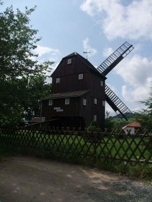 Bockwindmühle - Berndt-Mühle in Oderwitz in der Oberlausitz