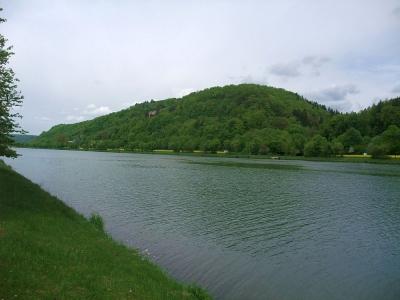 Main-Donau-Kanal (Altmühl) zwischen Kelheim und Essing im Altmühltal