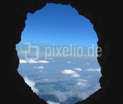 Pilatus - Guckloch auf dem Drachenweg