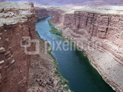 Der Colorado river bei Lee's Ferry in Arizona