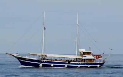 Bootsfahrt in Istrien