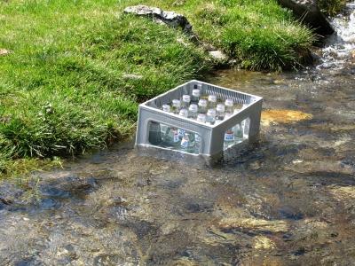 Mineralwasser - Naturgekühlt!