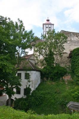 Schallaburg in Niederösterreich mit Burggraben