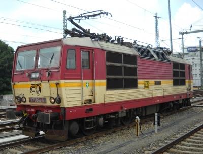 371001 der Tschechischen Bahnen (České dráhy - CD) in Dresden Hbf