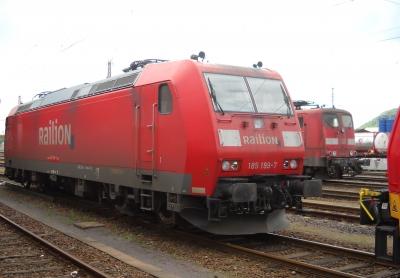 185 199 im Bahnhof Dillingen/Saar
