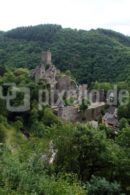 Manderscheid in der Eifel, Burgruine #5