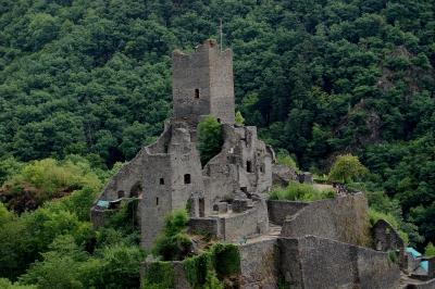 Manderscheid in der Eifel, Burgruine #4