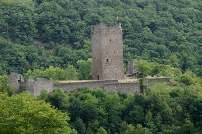 Manderscheid in der Eifel, Burgruine #3