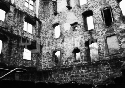 Ruinenmauern sw