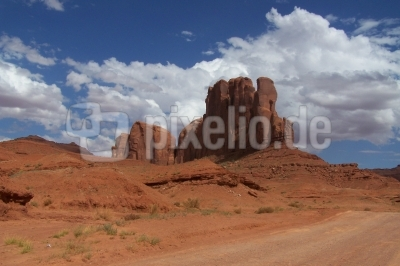 Offroad im Monument Valley
