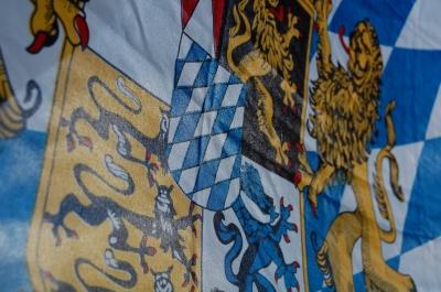Flagge: Freistaat Bayern