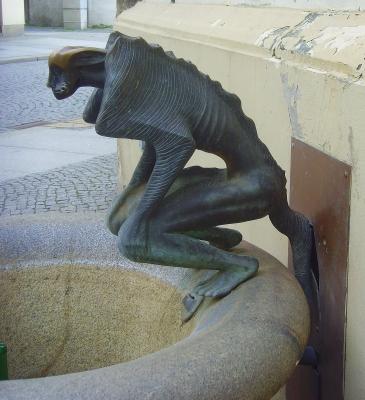 Görlitz - Brunnenfigur