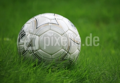 Fussball im Gras 2