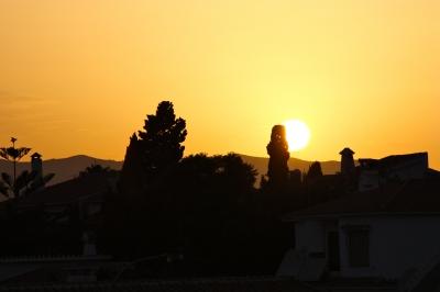 Sonnenuntergang in der Sierra-Nevada 2