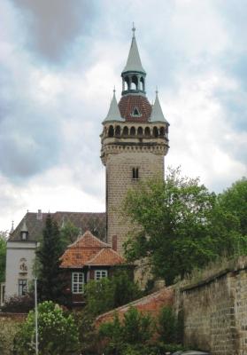 "Der ""Hohe Turm"" in Quedlinburg"