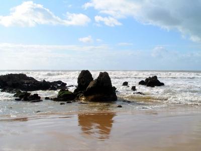 Strand und Wellen 6
