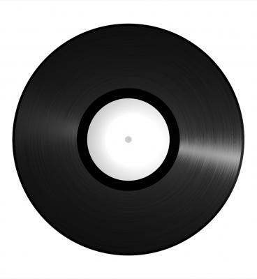 Oldschool Vinyl Schallplatte 1