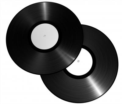 Oldschool Vinyl Schallplatte 2