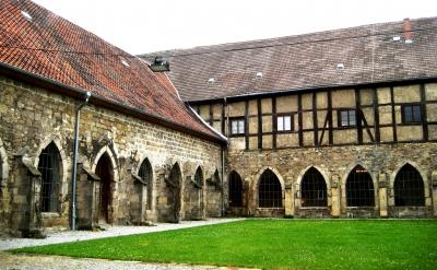 Kloster Michaelstein, Innenhof