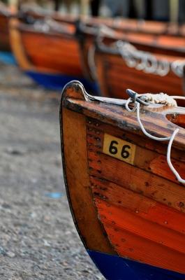Ruderboot am Lake Windermere