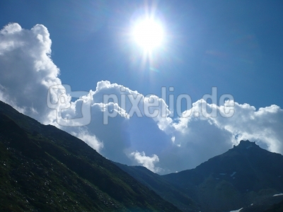 Himmel überm Val d' Anniviers